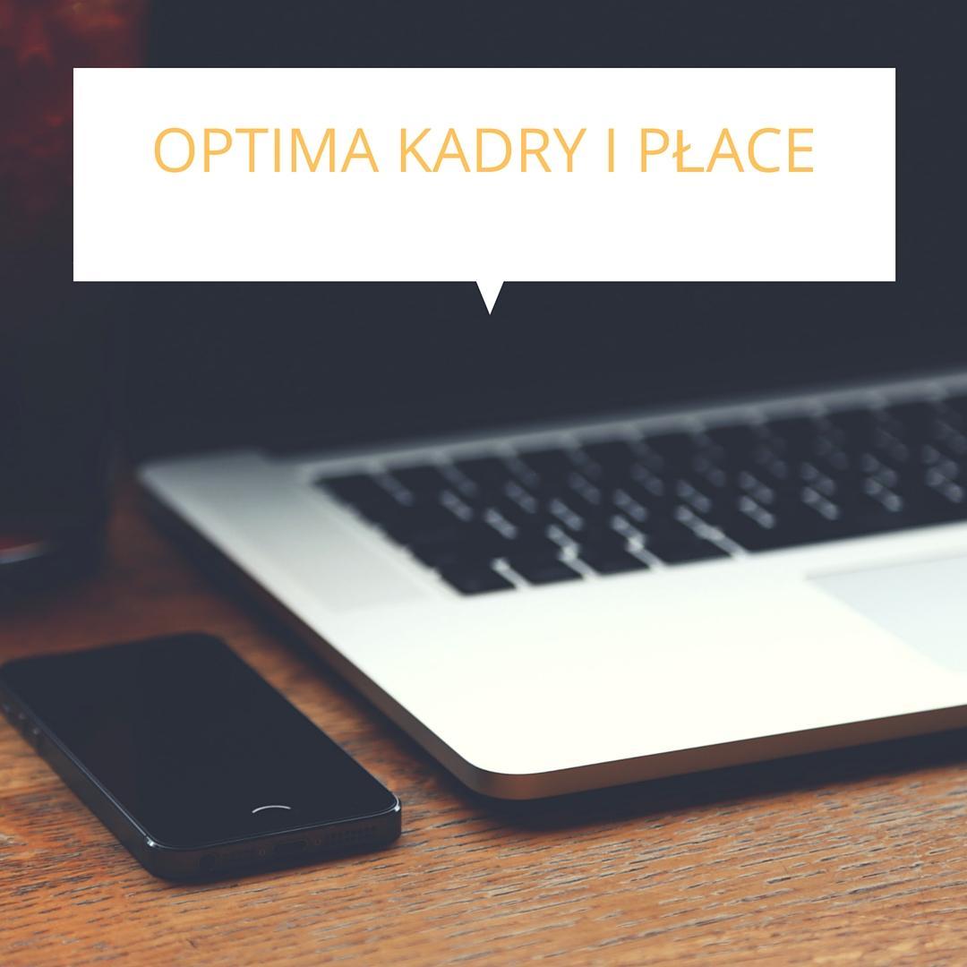 Nowe szkolenie – Optima Kadry i Płace ty...