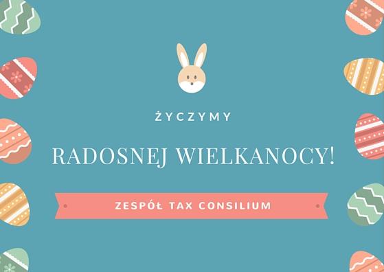 Życzenia Wielkanocne od Tax Consilium...