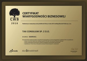 CWB 2016 TAX CONSILIUM
