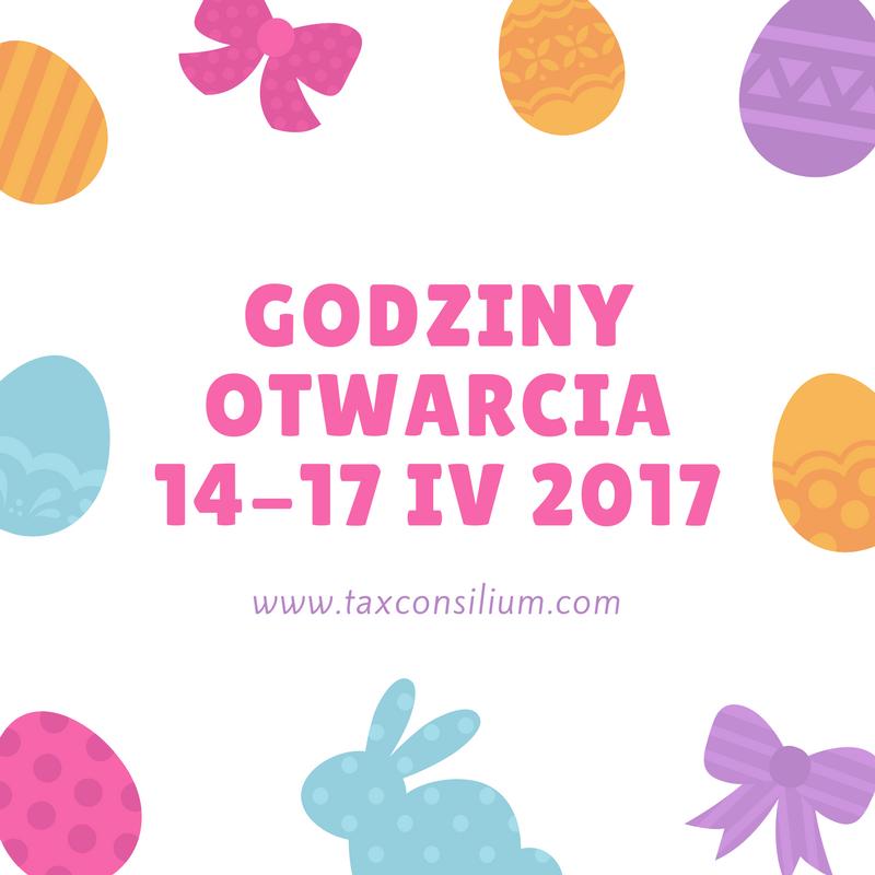 Godziny pracy w dn. 14-17.04.2017