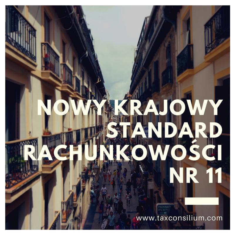 Nowy Krajowy Standard Rachunkowości Nr 1...