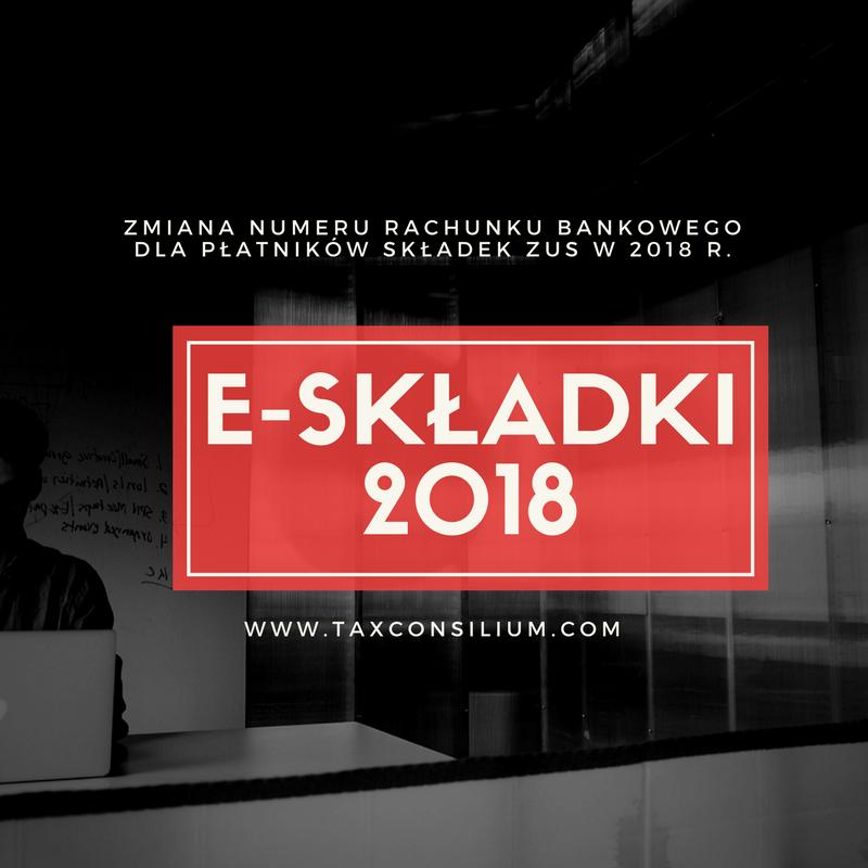 Składki ZUS w 2018 r. – numer NRS...