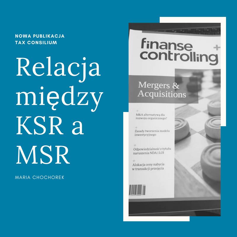 Relacja między KSR a MSR