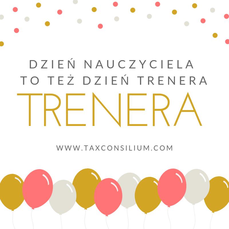 Dzień Nauczyciela i Trenera w Tax Consil...