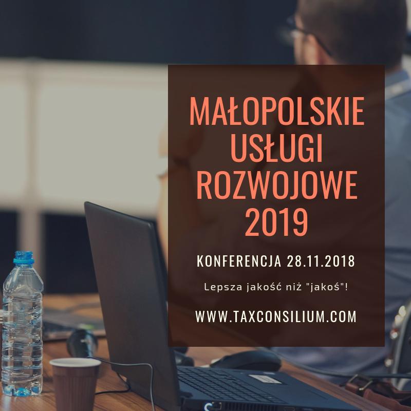 Małopolskie Usługi Rozwojowe 2019 – leps...
